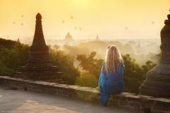 Золотой рассвет в Багане